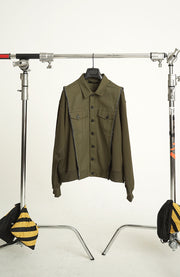 TYPE-2 JACKET MIX FLEECE TOP