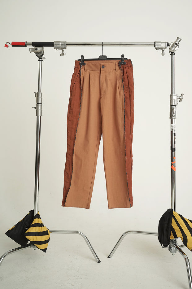 MIXED TAILORED TROUSERS