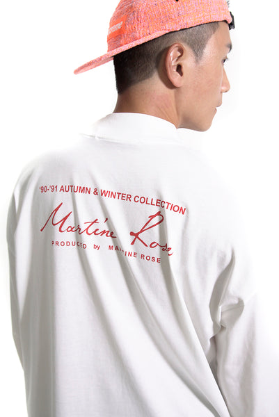 MARTINE ROSE SIGNATURE LOGO SWEATSHIRT