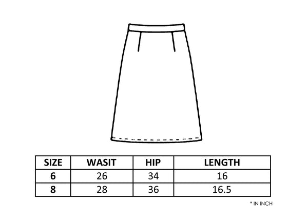 PATCH MINI SKIRT - MONOPOLIST  - 3