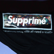 'SUPPRIME' TRANSPARENT PVC STITCH ON TEE