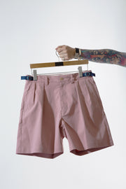 PLEATS SHORTS WITH SIDE ADJUSTING TAPE