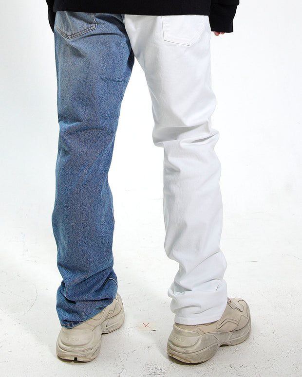 2 TONE PASCAL LILLY JEANS