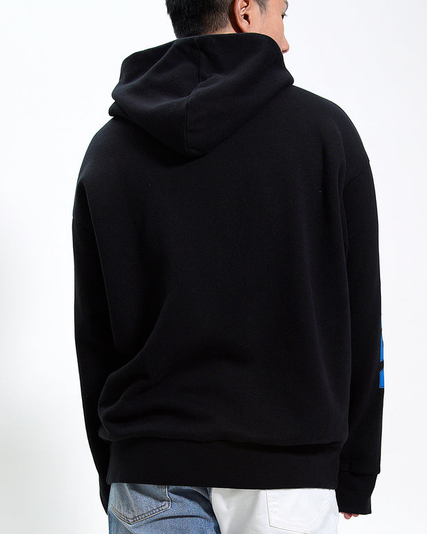 GRAPHIC HOOD SWEAT