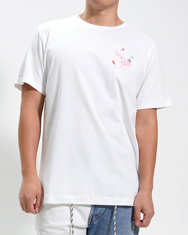 WHITE SPACE SEX TEE