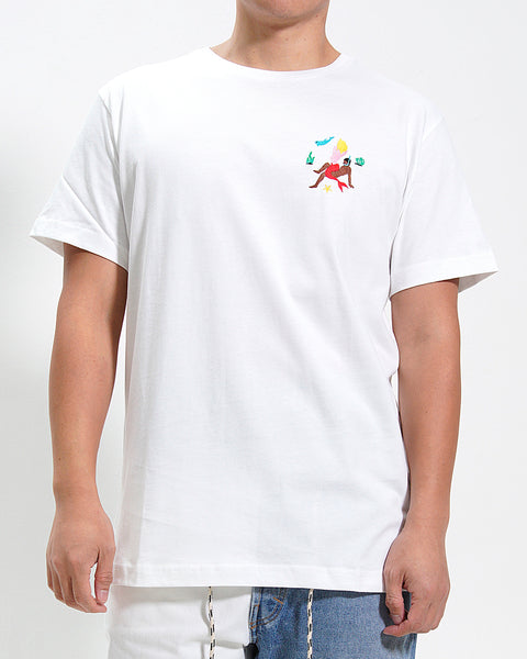 WHITE MERMAID SEX TEE