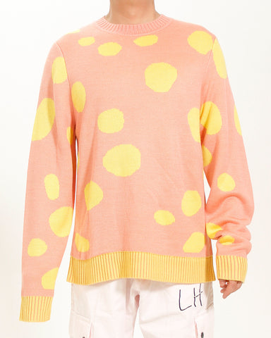 POLKA DOT SMILEY KNIT