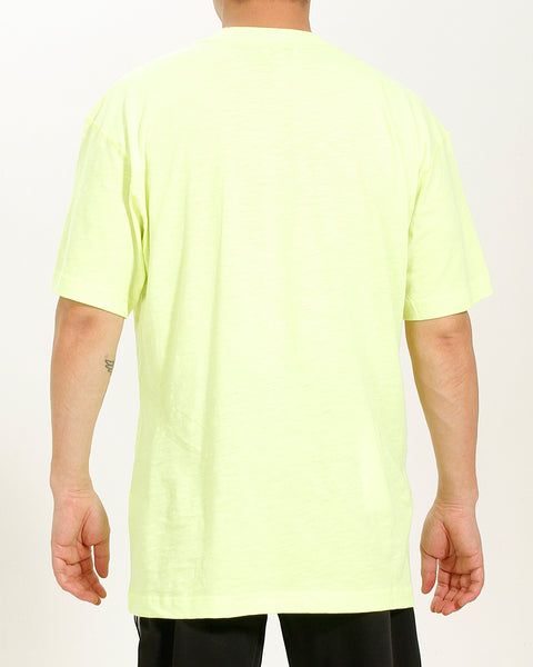 ACID YELLOW LOGO TEE