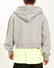 BOXY CROPPED HOODIE