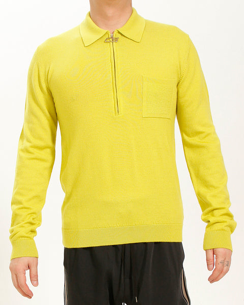 ACID YELLOW ZIP POLO