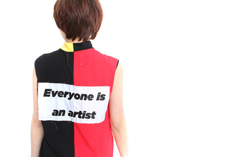 MULTI-COLOR VEST - MONOPOLIST  - 1