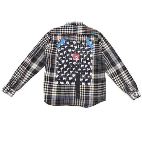 GIRLS MONOGRAM SHIRT - MONOPOLIST  - 1
