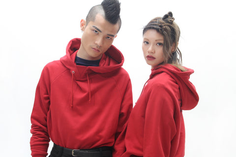EMBRODIERED COTTON-JERSEY HOODIE