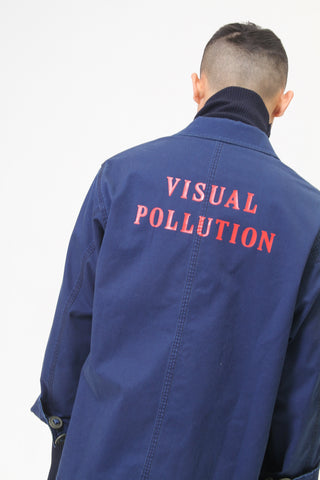 'Chemical Laboratories' Long Jacket
