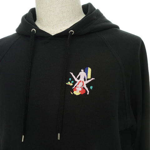 BLACK ROUGH SEX HOODIE