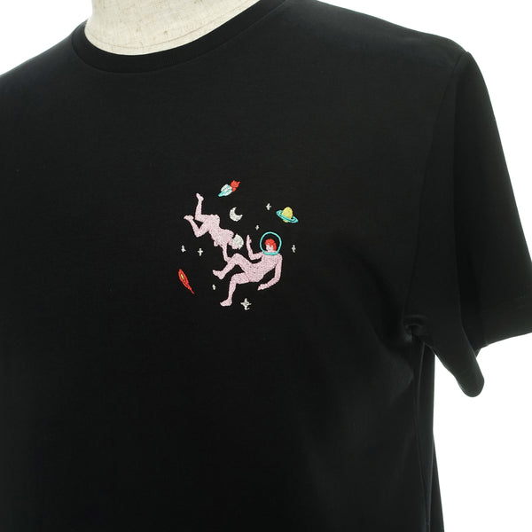 BLACK SPACE SEX TEE