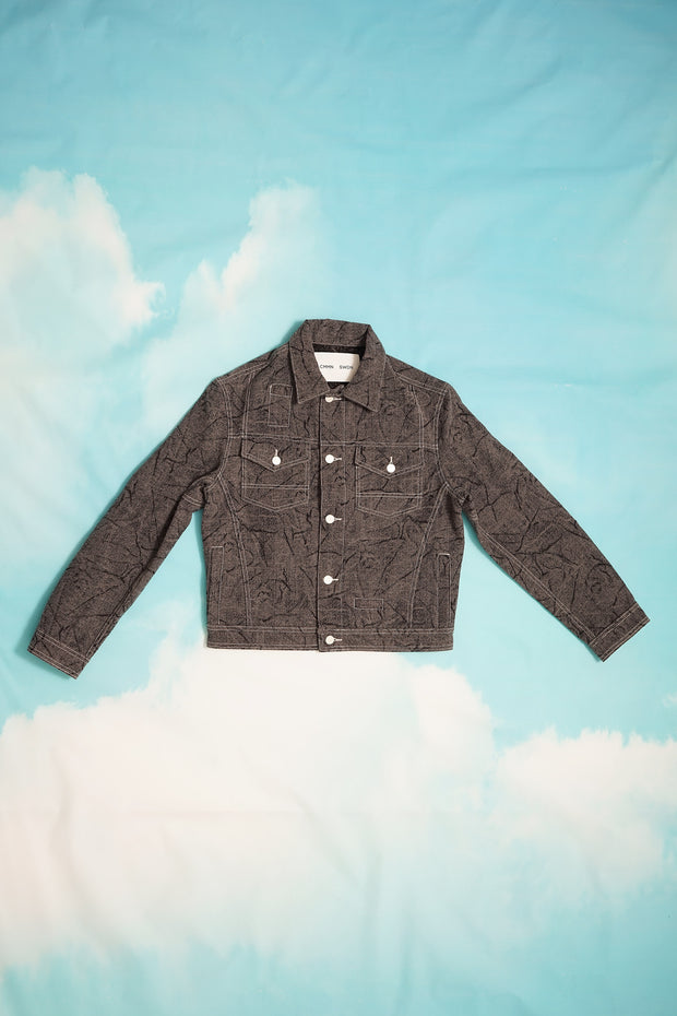 WOOL DENIM JACKET