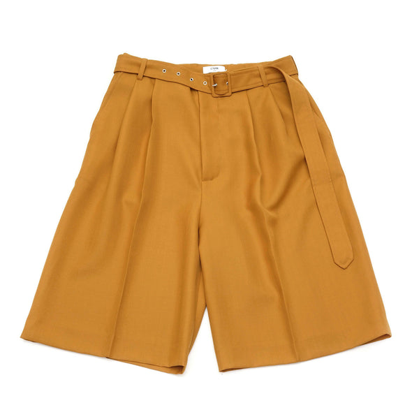 PLEATED VOLUME SHORTS