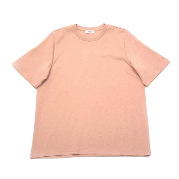 LOOPBACK COTTON-JERSEY TEE
