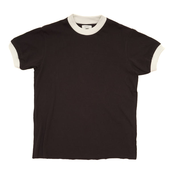 CONTRAST TRIMMED ORGANIC COTTON TEE