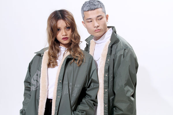 TRIMMED WINDBREAKER - MONOPOLIST  - 1