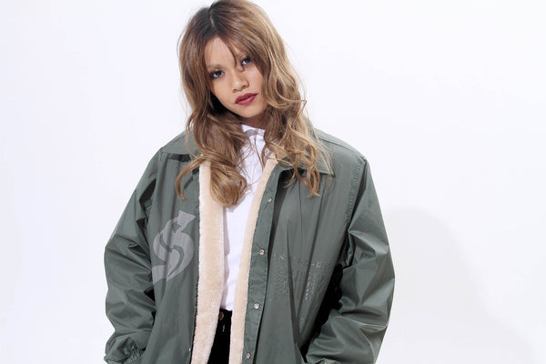 TRIMMED WINDBREAKER - MONOPOLIST  - 2