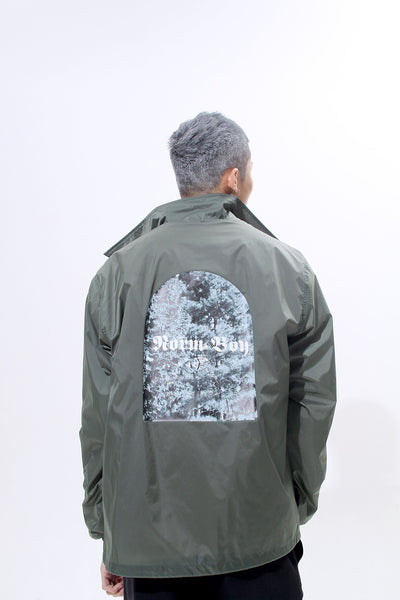 TRIMMED WINDBREAKER - MONOPOLIST  - 4