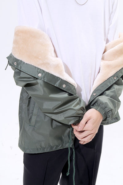 TRIMMED WINDBREAKER - MONOPOLIST  - 9