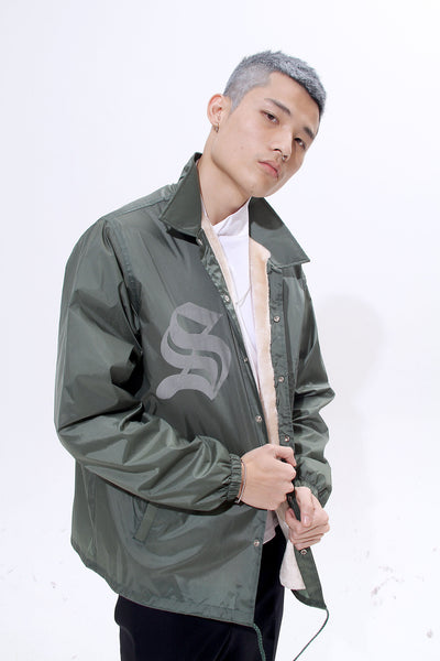 TRIMMED WINDBREAKER - MONOPOLIST  - 5