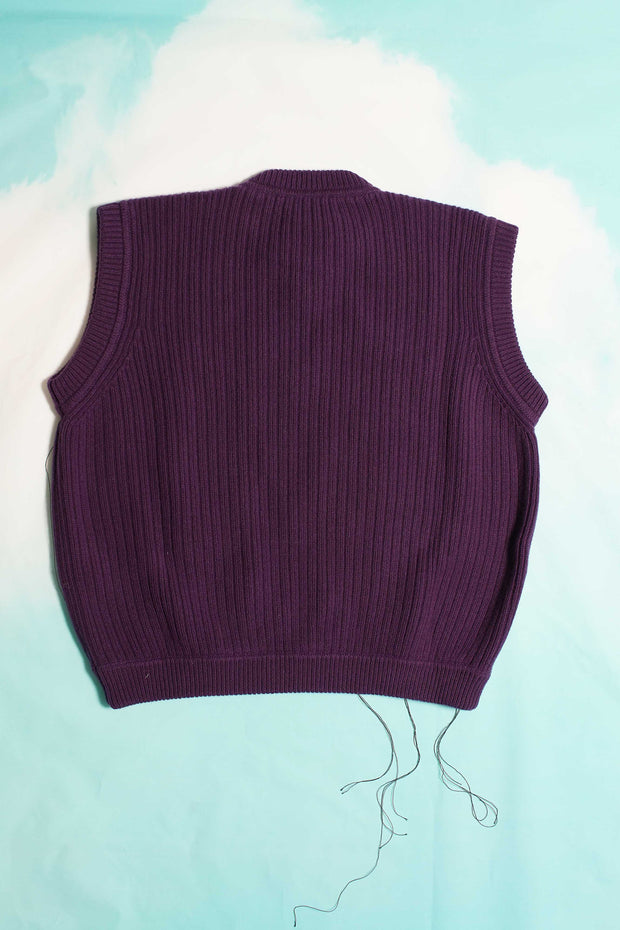 PURPLE ZIG ZAC ELECTRIC VEST