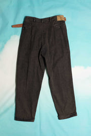 SUPER DENIM BELT PANTS