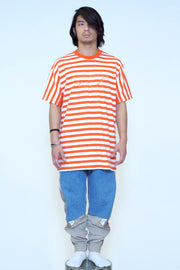 OVERSIZED STRIPE TEE
