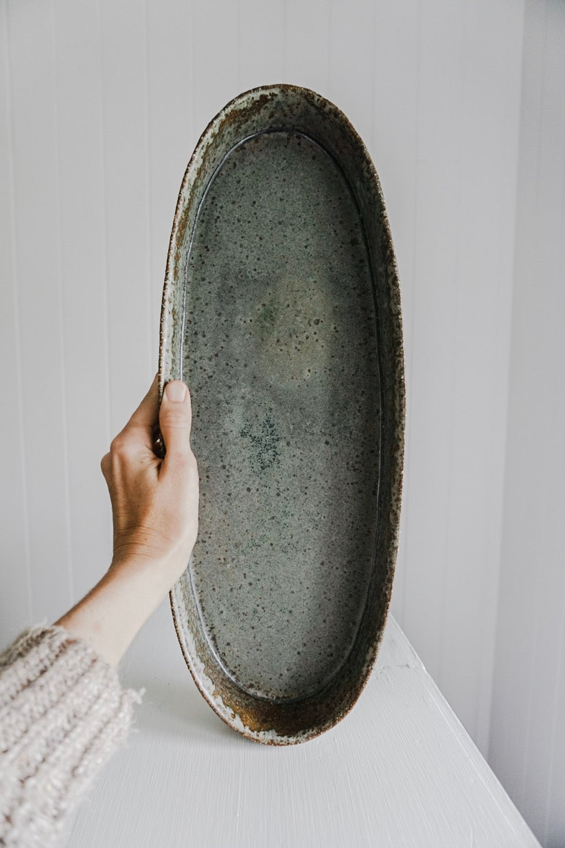 Seconds - Large Oval Platter