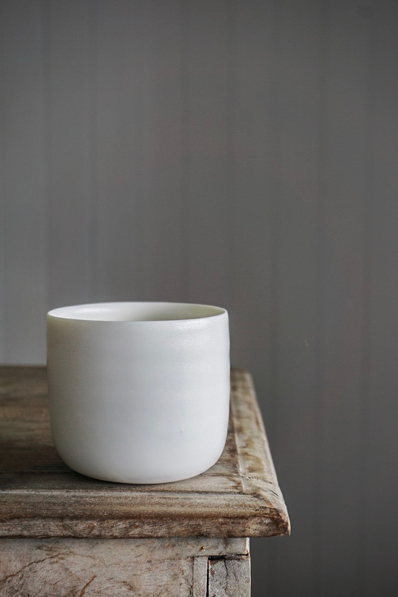 Cup: Fine Porcelain Rounded
