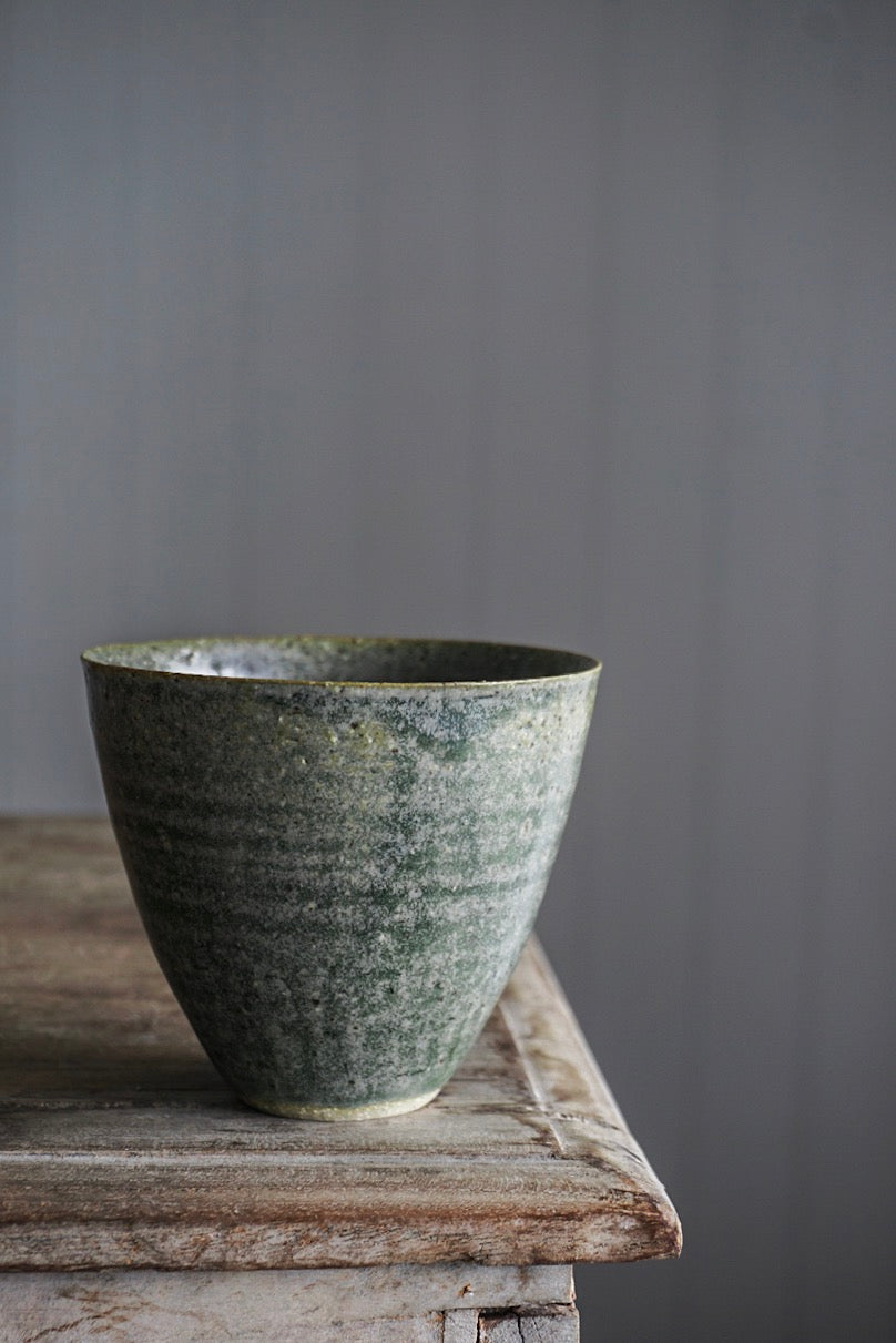 Cup: Blue-Green-Grey