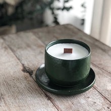 Lemon Myrtle Essential Oil Candle & Plate