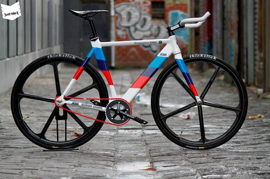 BMW custom fixie