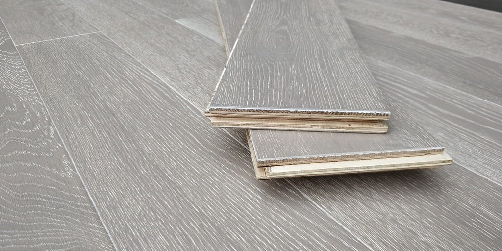 125mm Clay Grey  Engineered European Oak Wood Flooring 18/4 Thick