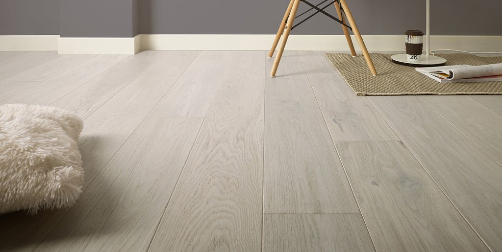 180mm Premium Cappuccino Oak Brushed Matt Lacquered Engineered European Oak Wood Flooring 14 Thick