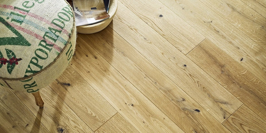 130mm Classic Oak Matt Lacquered Engineered European Oak Wood Flooring 14 Thick