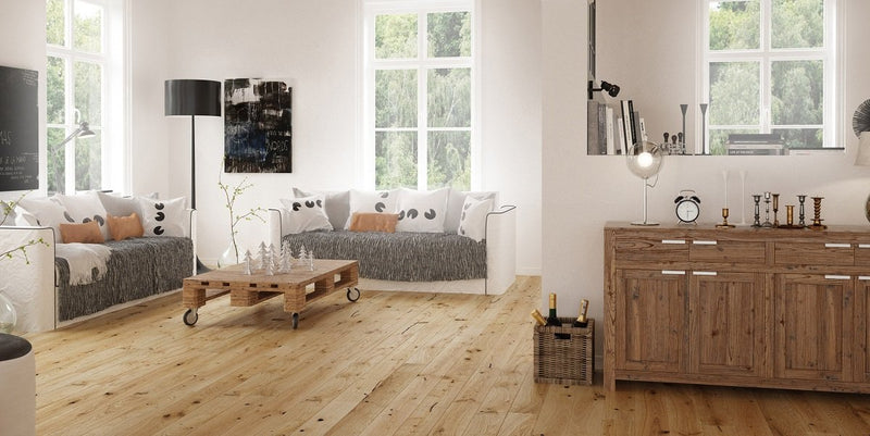 130mm Classic Oak Brushed and Oiled Engineered European Oak Wood Flooring 14 Thick
