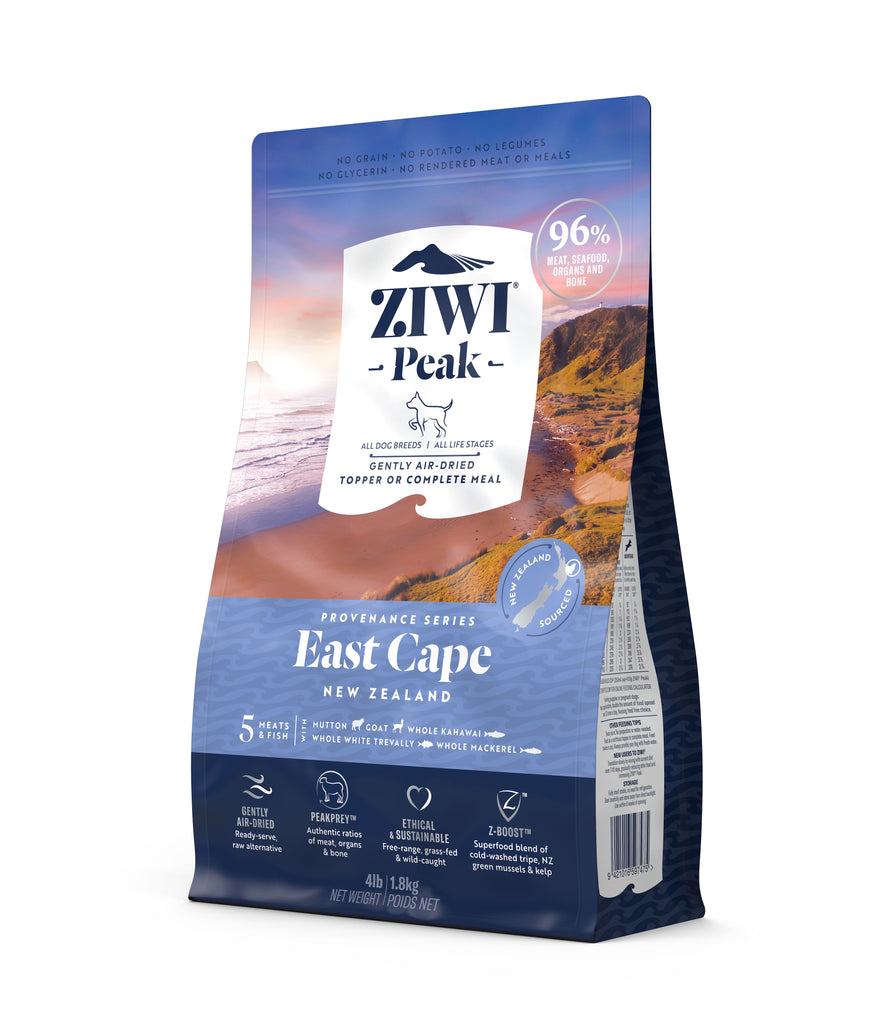 Ziwi Peak Provenance Air Dried Dog Food - East Cape
