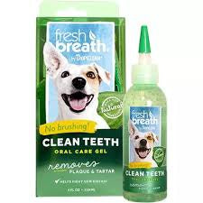 Tropiclean Fresh Breath Gel - 60ml