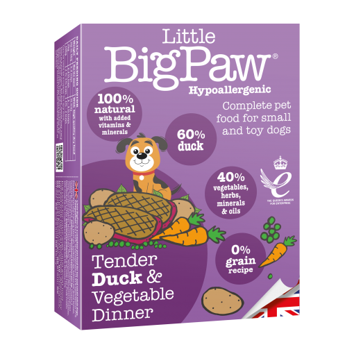 Little Big Paw Dog Food - Duck Dinner