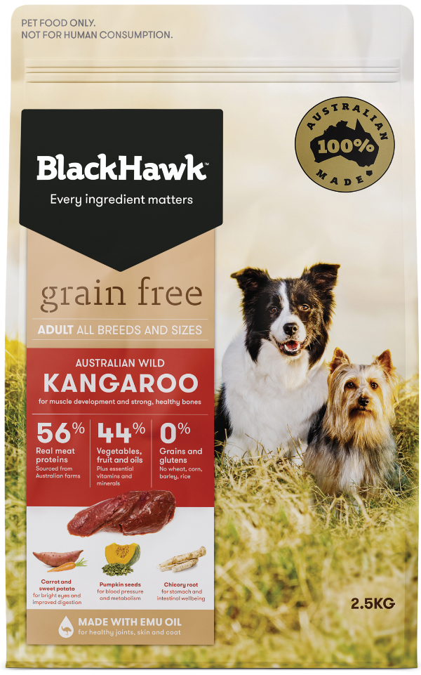 Blackhawk Grain Free - Dog Kangaroo - Mudpuppy