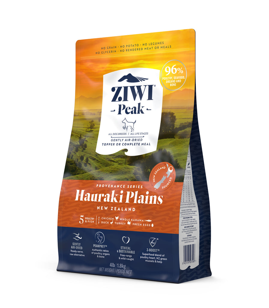Ziwi Peak Provenance Air Dried Dog Food - Hauraki Plains