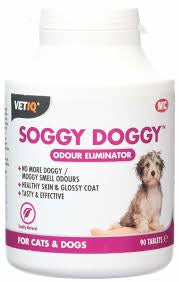 VETIQ - Soggy Doggy Odour Eliminator - 90 tablets