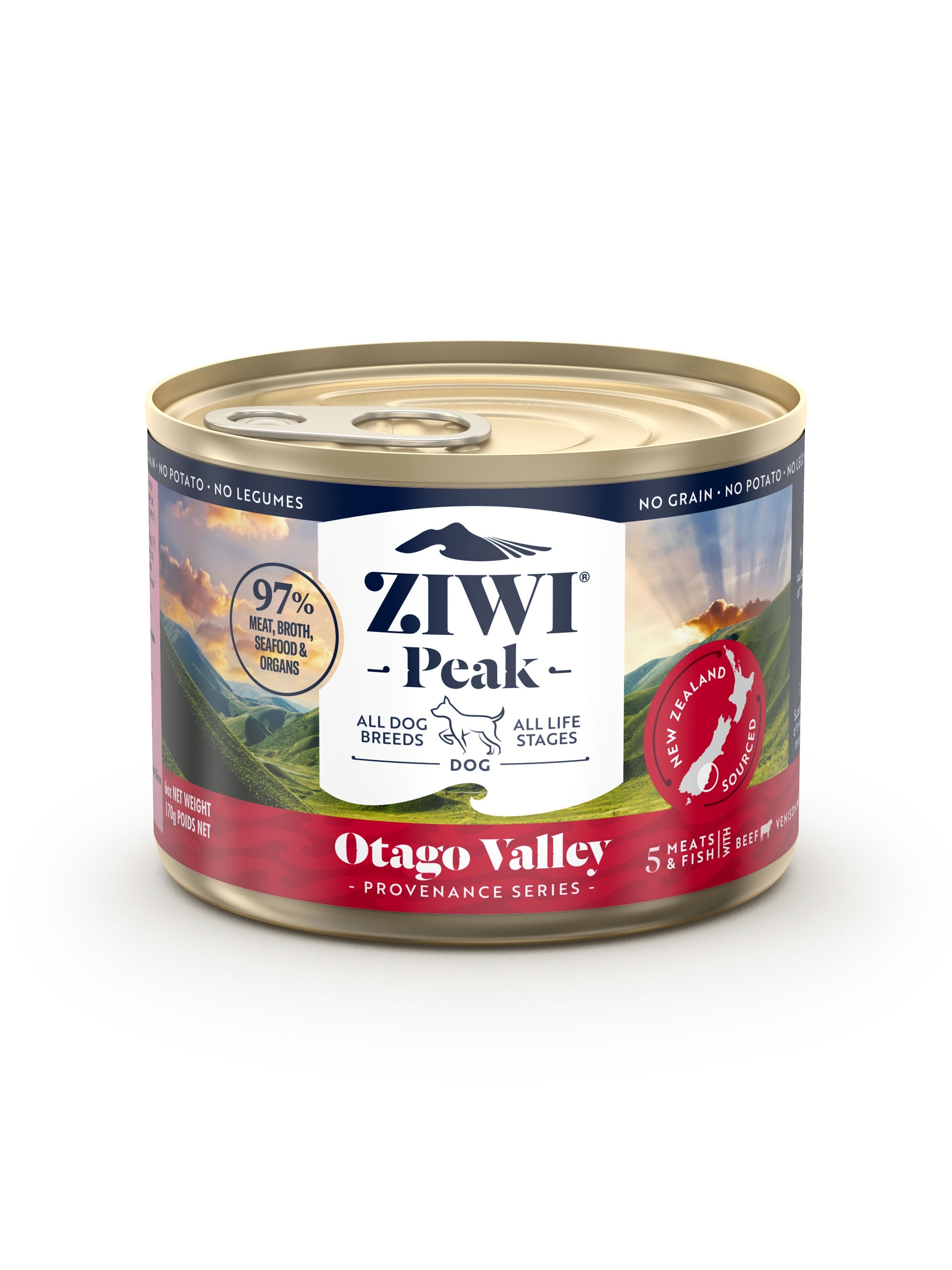 Ziwi Peak Provenance Canned Dog Food - Otago Valley