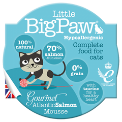 Little Big Paw Cat Food - Salmon Mousse