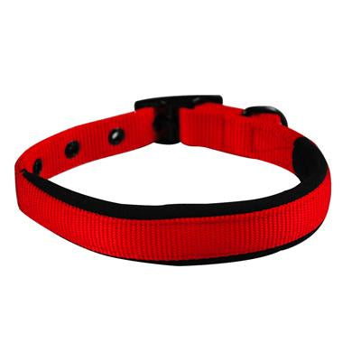 Yours Droolly Foam Backed Collar - Red